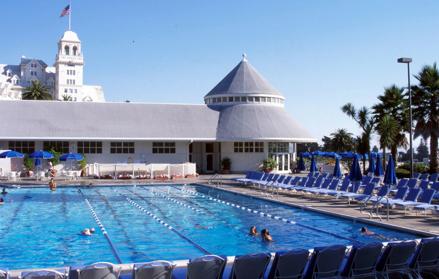 The Claremont Hotel Pool Oakland California