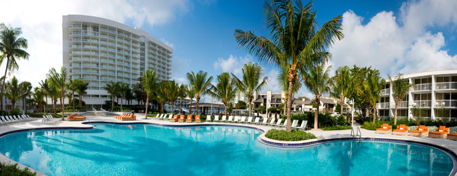 The Pool At The Hilton Fort Lauderdale Marina