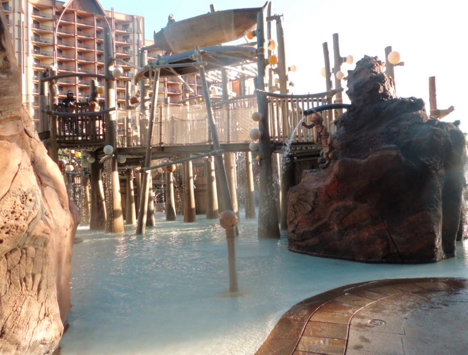 Disney Aulani Aquatic Play Area