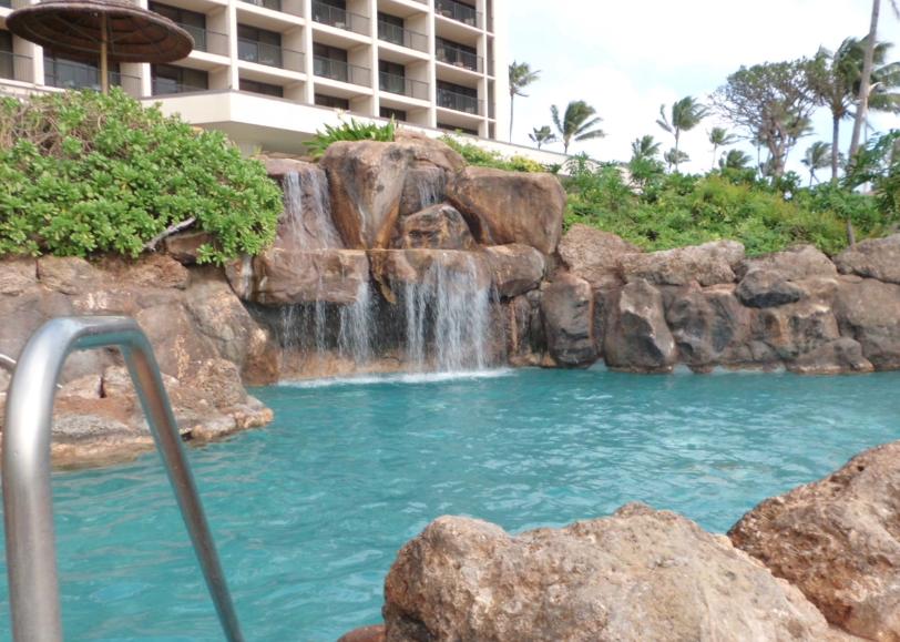 Turtle Bay Oahu Waterfall