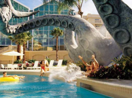 Gaylord Hotel, Florida waterslide