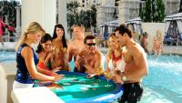 Caesars Palace Swim Up Blackjack