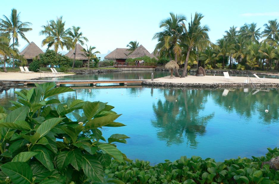 Tahiti, Intercontinental: Lagooon