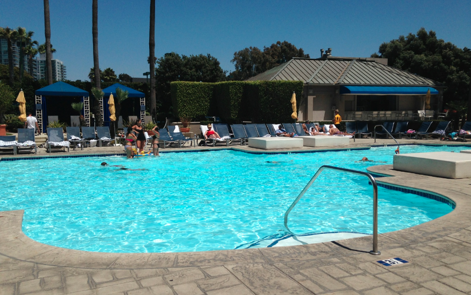 Ritz Carlton Marina Del Rey California Reader Swim