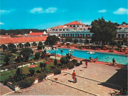 Vintage Postcard Hotel Playa De La LUz