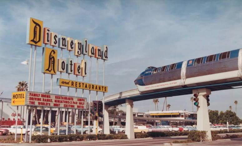 Disney Hotel Sign