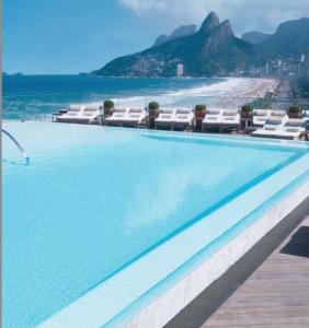 Hotel Fasano Infinity Pool, Rio